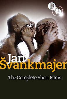bfi film quiz january jan švankmajer the complete short films dvd bfi