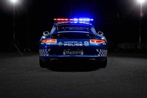 police porsche a porsche 911 becomes a police car in australia