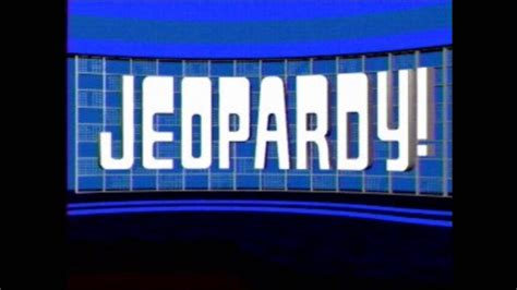 theme to definition game show game show music jeopardy theme song 1984 1991 youtube