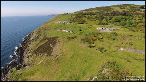 In The Isle Of aerial view of the howstrake c isle of