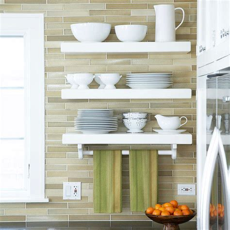 Kitchen Cabinet Layout Ideas by Open Kitchen Shelving Tips And Inspiration
