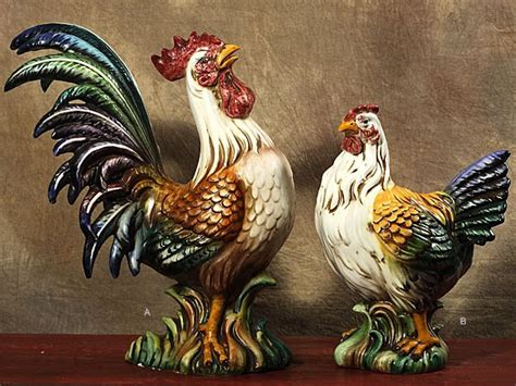 Tin Kitchen Canisters siena home boutique italian roosters