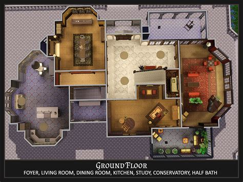 wayne manor floor plan mod the sims stately manor residential no cc