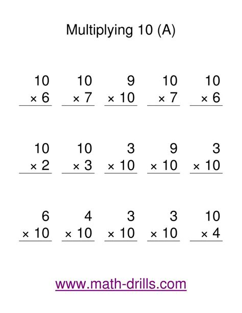 Multiplying Worksheets by Search Results For Math Drills Multiplication Worksheets