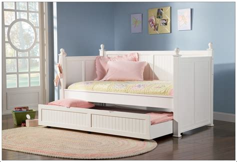 Bed With Sides by Save Space Smartly With Trundle Beds