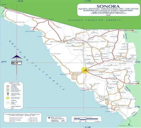 mapa de sonora mexico sonora maps genealogy familysearch wiki