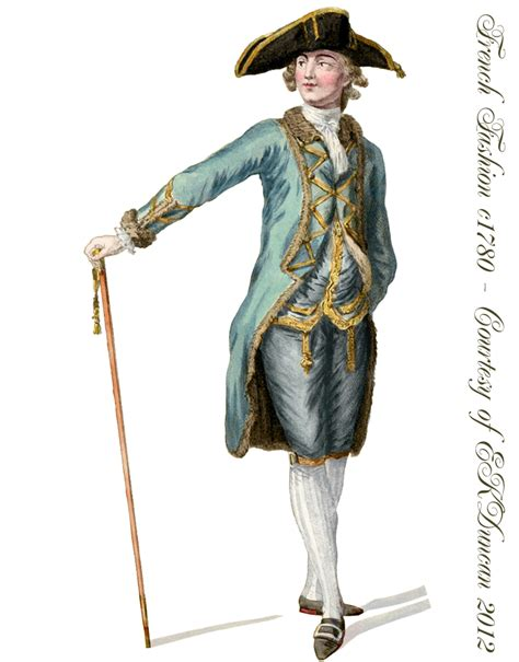 18th century french clothing late 18th century french fashions for men pngs in