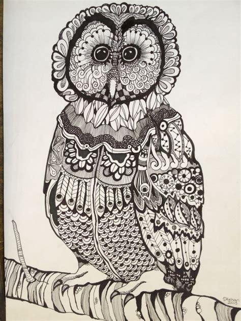 zentangle owl pattern 159 best images about zentangle owls on pinterest