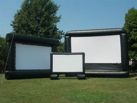 backyard big screen outdoor movie screen rentals