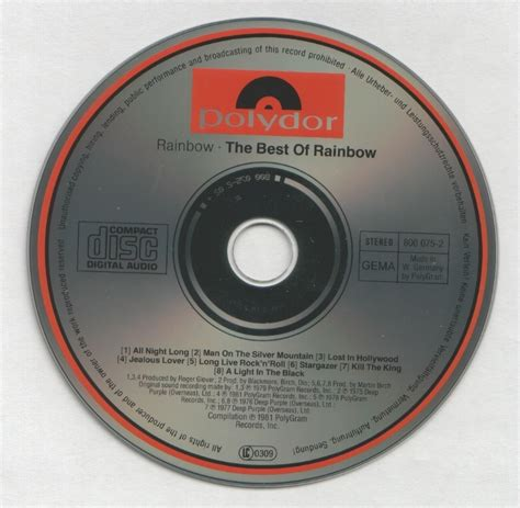 Page The Rainbow Cd rainbow rising w german polydor how is it page 5 steve hoffman forums