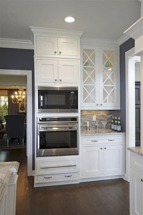 alpine white granite countertop transitional kitchen