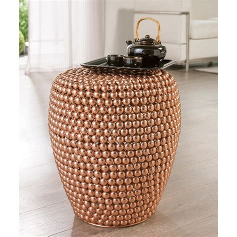 Dot Copper Stool by Buy Dot Stool Copper 3 Year Product Guarantee