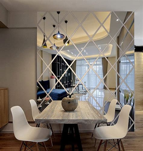 Acrylic Cermin this wall decal is made from acrylic mirrors like a mirror but much lighter apply removable
