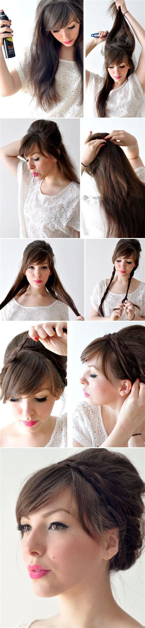 Easy Haircuts You Can Do At Home | creative hairstyles that you can easily do at home 27