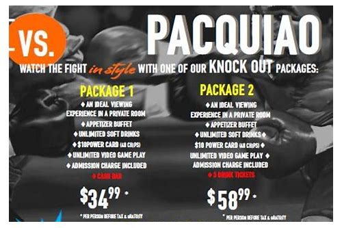 mayweather package deals