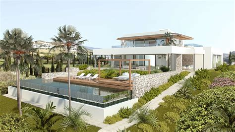 villa modern new modern villa los flamingos golf for sale realista
