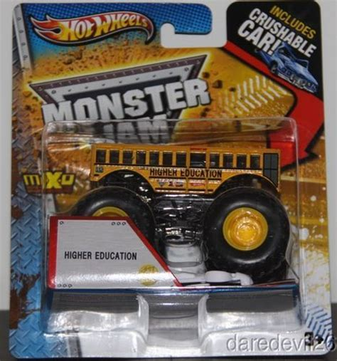 monster truck videos please 2013 wheels higher education bus monster truck