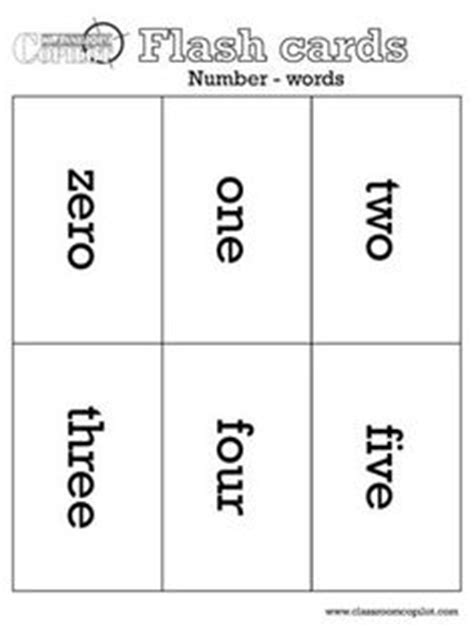 printable number flashcards 1 1000 1000 images about number words on pinterest number