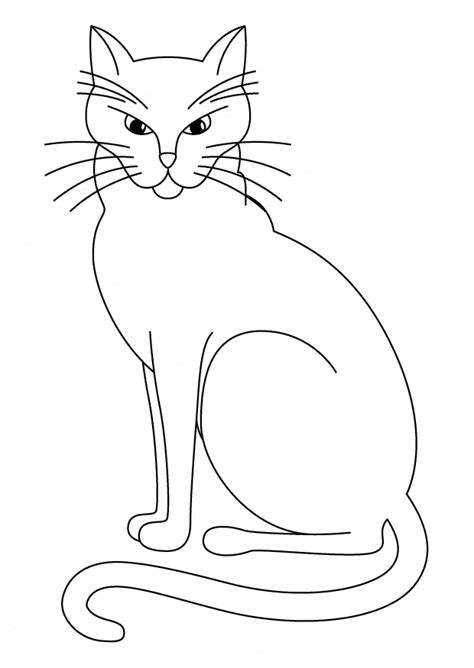 Coloring Page And Cat by Cat Coloring Page Animals Town Animals Color Sheet