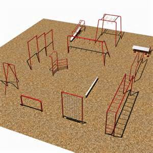 Unit Course by 12 Unit Fitness Course By Sportsplay Park School Playground Equipment Aaa State Of Play