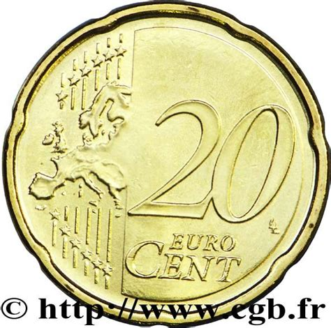 20 buro cent 20 cent 2nd map san marino numista