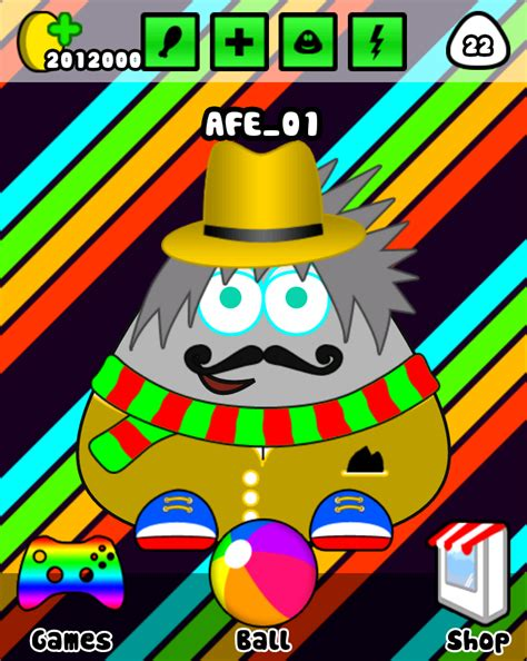 mod game pou terbaru pou mod apk cheat unlimited coins dhika share