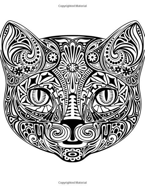 coloring book stress relieving designs animals mandalas flowers paisley patterns and so much more books colorful cats 30 best stress relieving cats designs