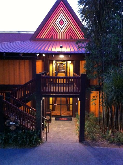 Disney Polynesian Tokelau Longhouse 3rd Floor Room View - accommodations at disney s polynesian resort