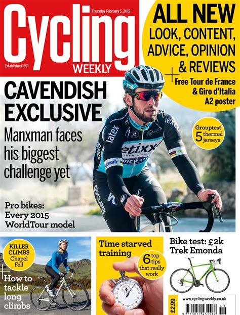 weekly magazines cycling weekly magazine issue