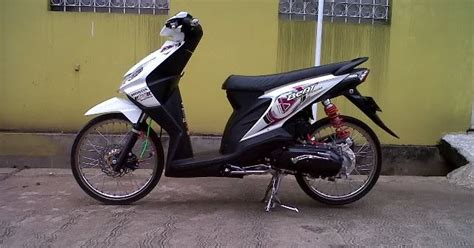 Modifikasi Motor F1 Zr Simple by Modifikasi Honda Beat Thailand Style Modifikasi Motor