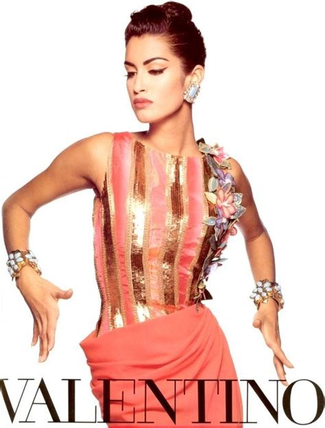 Valentino Joins The 90s Image Trend For His Ad Caign by 354 Best Yasmeen Ghauri Images On 1990s
