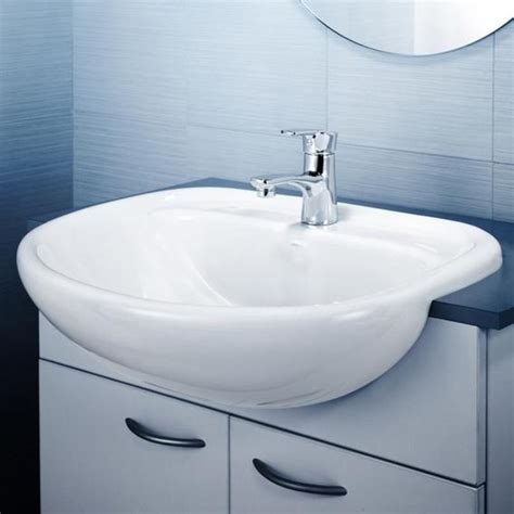 caroma bathroom products caroma caravelle semi recessed vanity basin design content