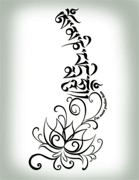 om mani padme hum tattoo designs om padme hum tatoos