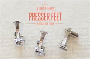 How To Blind Hem Stitch By Hand 3 Must Have Bernina Presser Feet And How I Use Them