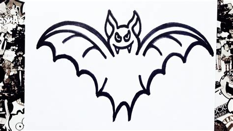 dibujos de murcielagos para colorear como dibujar un murci 233 lago how to draw a bat youtube