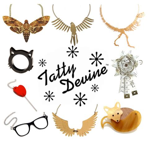 Tatty Devines Ss07 Jewellery Collection Available Now by Fashion Accessorize With Tatty Stylelab