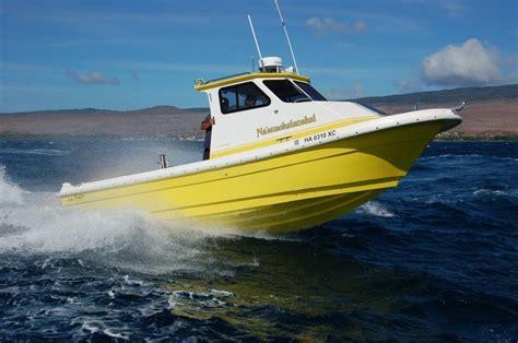 hawaiian catamaran molokai radon patrol and research boats