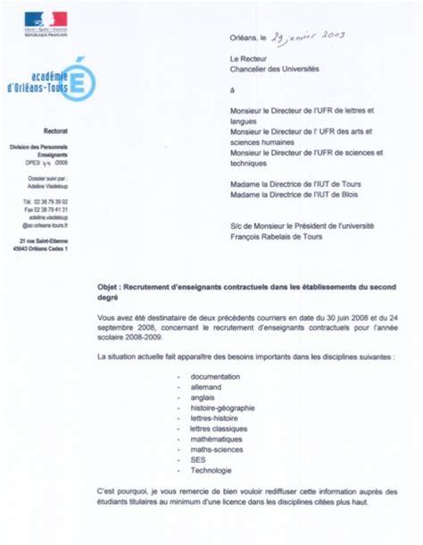 Présentation De Lettre Sous Couvert Modele Lettre Sous Couvert De La Voie Hierarchique Document