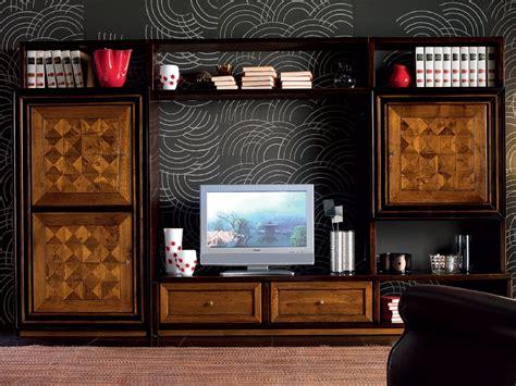venier mobili ca venier parete attrezzata in legno by cantiero