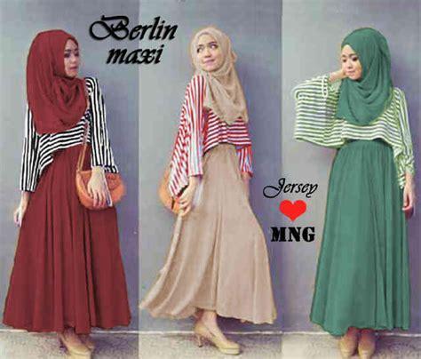 Denaya Stripe Set Spandek Tanpa Pashmina gamis modern berlin maxi rg50 model busana muslimah