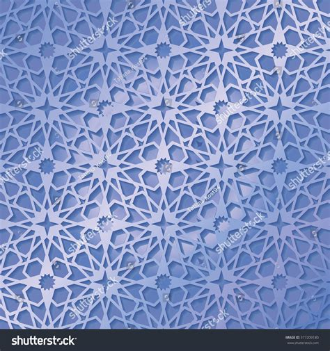 blue islamic pattern ornamental pattern vector abstract background arabic