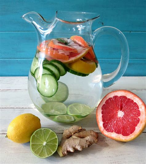 Detox Fluid by 38 Detox Waters To Cleanse Your And Mind Detox Diy
