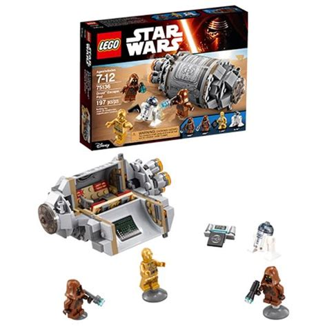Wars Lego Droid Escape Pod lego wars 75136 droid escape pod lego wars