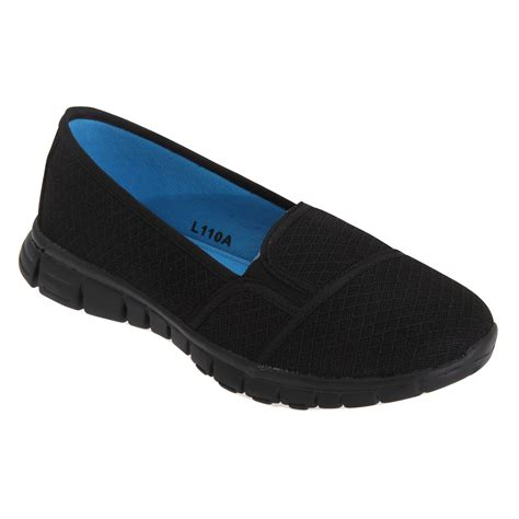 dek superlight womens memory foam slip on shoes ebay
