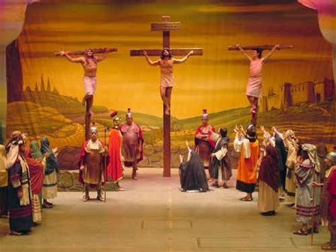 Jesus Healing Blind Photo Gallery The American Passion Play Inc