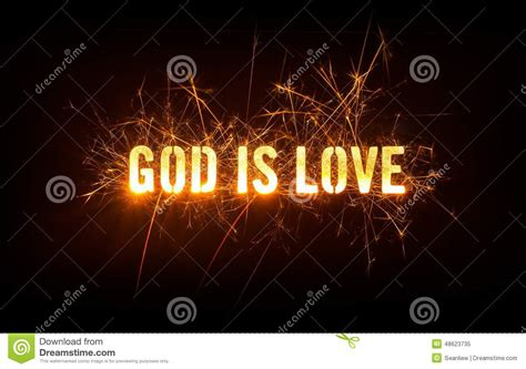 background design god god is love title on dark background stock photo image