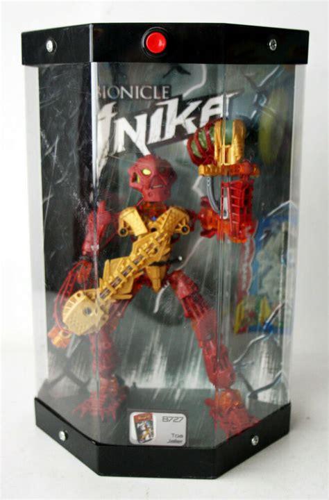 amazing  lego bionicle inika  toa jaller  model