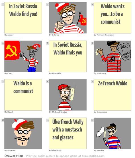 Find In Russia In Soviet Russia Waldo Find You