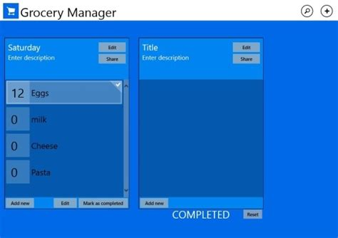 best manager for windows 8 grocery manager app for windows 8