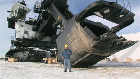 Ac Excavator p h mining equipment 4100 ac mining shovel walkthrough